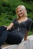 unga blonda flickor Royaltyfri Bild