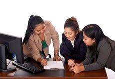 unga executive kvinnor Arkivbild