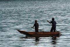Unga fishermans Royaltyfri Fotografi