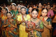Unga indiska flickor Royaltyfri Foto