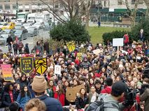 Youth Climate Strike and March in New York City, USA. December 6th 2019.