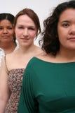unga kvinnor Royaltyfri Bild