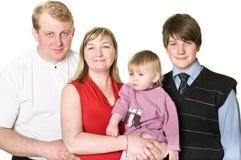 unga lyckliga föräldrar för barn Royaltyfri Foto