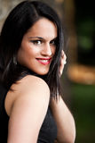 unga lyckliga kvinnor royaltyfria bilder