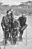 Unga Masaimän Royaltyfri Bild