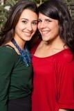 unga nätt kvinnor Fotografering för Bildbyråer