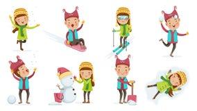 ungar royaltyfri illustrationer