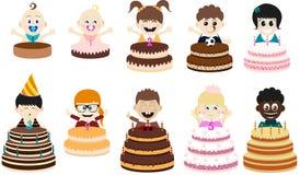 Ungar för födelsedagparti Arkivfoto