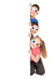 Ungar i filmerna Royaltyfri Foto