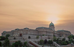 Ungar Royal Palace, Budapest, Ungarn Stockfotos