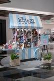 Ungar 21 som Jellycat poppar shoppar upp, på Siam Discovery, Bangkok, Thailan Arkivbilder