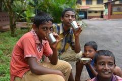 ungar som lärer Royaltyfri Foto