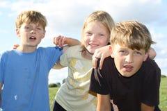 ungar tre Royaltyfri Bild