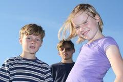 ungar tre Royaltyfri Foto