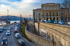 Ungarische Akademie der Wissenschaften Lizenzfreies Stockbild