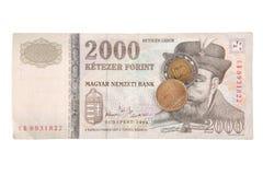 Ungarische Forint Lizenzfreies Stockbild