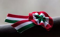 Ungarische Kokarde - ungarisches kokà ¡ rda Stockfotografie