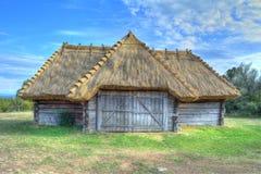 Ungarische ländliche Gebäude HDRs Stockbilder