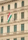Ungarische Markierungsfahne Stockfotografie