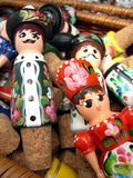Ungarische Puppen lizenzfreies stockbild