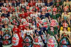 Ungarische Puppen stockfotografie