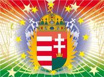 Ungarische Wappen Lizenzfreie Stockfotos