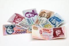 Ungarischer Forint Lizenzfreies Stockfoto
