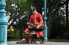 Ungarischer Musiker Lizenzfreie Stockfotografie