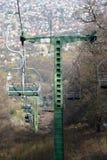 Ungarischer Sessellift Stockbild