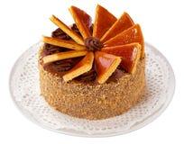 Ungarisches Dobos torte - Kuchen lizenzfreies stockbild