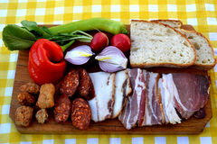 Ungarisches Lebensmittel Lizenzfreies Stockbild