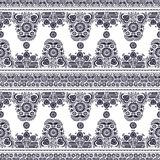 Ungarisches nahtloses Muster Stockfotografie