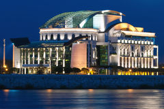 Ungarisches nationales Theater Stockfoto