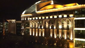 Ungarisches Nationaltheater stock video