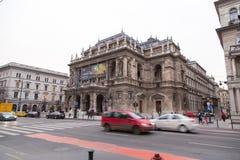 Ungarisches Opernhaus Lizenzfreie Stockfotos