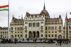 Ungarisches Parlament Stockfotos