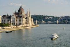 Ungarisches Parlament, Budapest Lizenzfreie Stockfotos