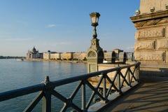 Ungarisches Parlament, Budapest Stockfotos