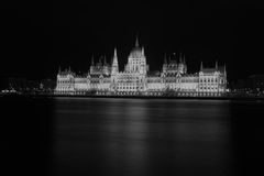 Ungarisches Parlament, das OrszÃ-¡ ghà ¡ z errichtet Lizenzfreies Stockbild