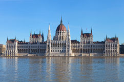 Ungarisches Parlaments-Gebäude Lizenzfreie Stockfotografie