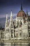 Ungarisches Parlaments-Gebäude Stockfoto