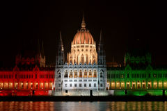 Ungarisches Parlamentsgebäude Lizenzfreie Stockbilder