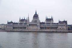Ungarisches Parlamentsgebäude Stockfoto