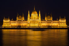 Ungarisches Parlamentsgebäude, Budapest Lizenzfreies Stockfoto