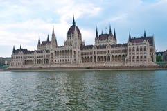 Ungarisches Parlamentsgebäude in Budapest Stockfoto