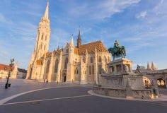 Ungarn, Budapest, Matthias Church Stockfotografie