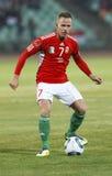 Ungarn gegen Liechtenstein (5: 0) Lizenzfreies Stockbild