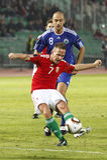 Ungarn gegen San Marino 8-0 Lizenzfreies Stockfoto