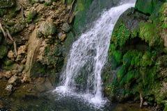 Ungarn, LillafÃ-¼ Rotwasserfall Lizenzfreie Stockfotografie