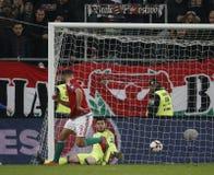 Ungarn V Andorra - FIFA 2018 Weltcup-nähere Bestimmung 4-0 Stockbild